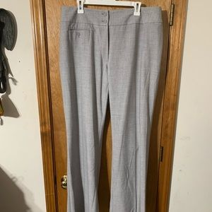Grey fashion slacks